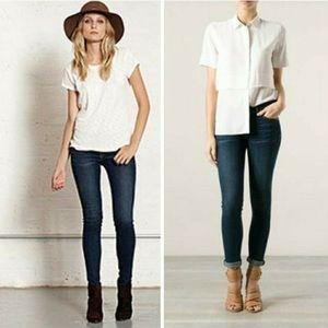 rag & bone Jeans - Rag & Bone Skinny Wonderland denim skinny jeans 25